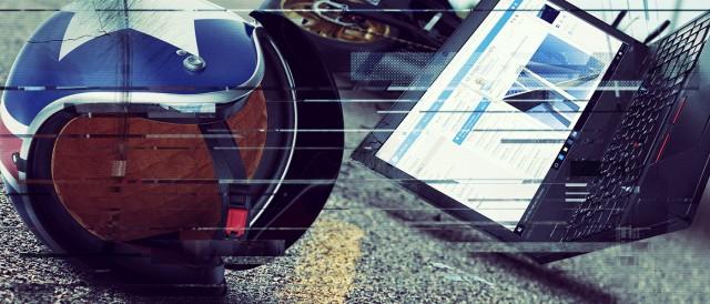 Chiếc laptop Lenovo Thinkpad và vụ tai nạn xe máy bất ngờ