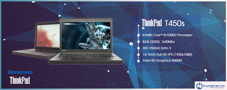 ThinkPad T450s i5 5300U 8GB 256GB FHD IPS TOUCH