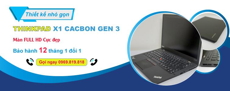X1 Carbon Gen 3 i7 5600U 8GB 256GB FHD