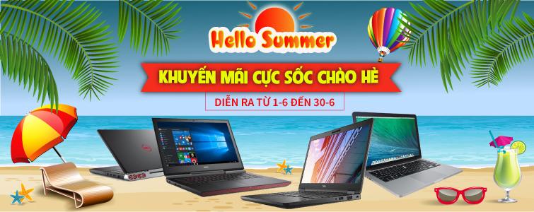 Hello Summer Khuyến Mãi Nhận Quà Khủng