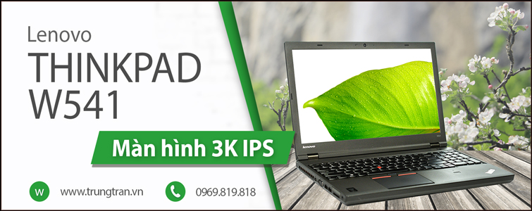 ThinkPad W541 i7 4810QM Màn 3K IPS