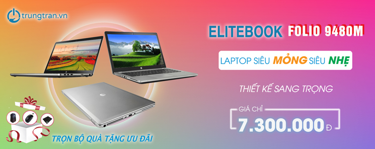 HP Elitebook Folio 9480M CPU i5 Haswell