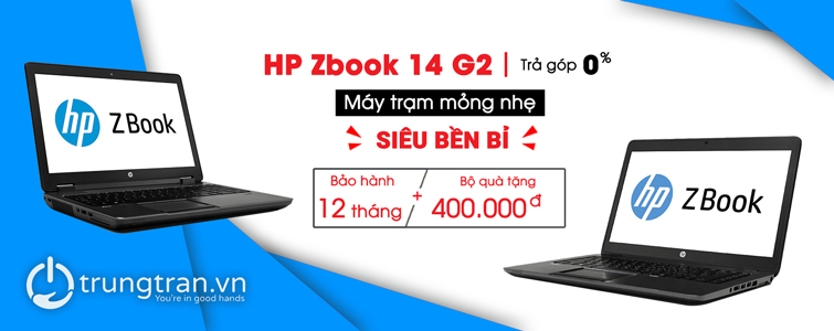 HP Zbook 14 G2 i5 14″ AMD Firepro M4100 2GB