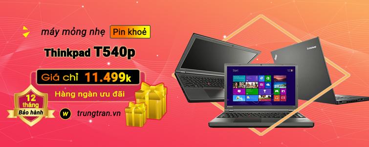 ThinkPad T540p i5 4300M 8GB SSD 256GB Màn FHD
