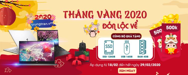 Event 2020 - Tặng Tiền Mặt và RAM SSD