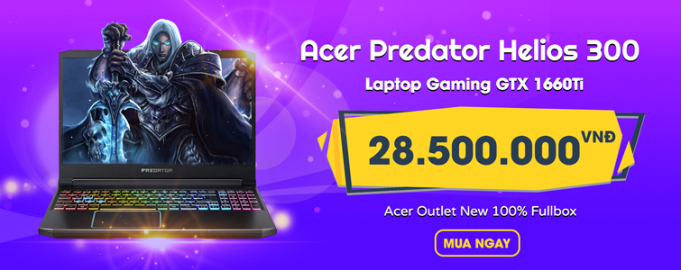 Acer Predator Helios 300 New 100% Fullbox