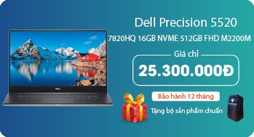 Workstation Dell thế hệ mới: Precision 5520 vs XPS 9560