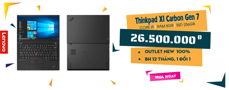 Lenovo Thinkpad X1 carbon gen 7 New Fullbox 100%