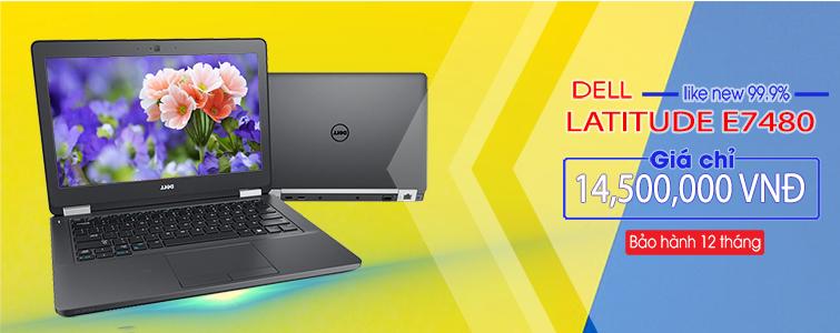 Dell Latitude E7480 Máy đẹp như mới Likenew 99%