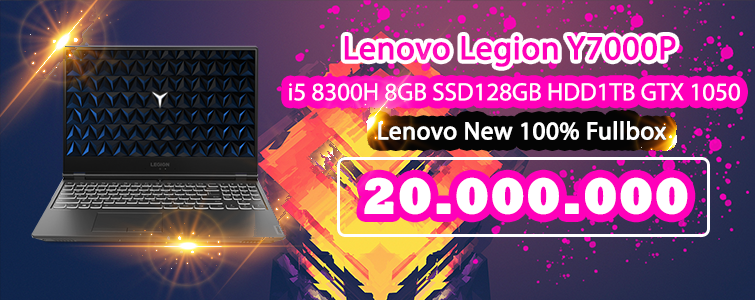 Lenovo Legion Y7000P new 100% fullbox