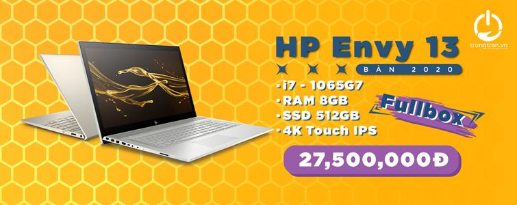 HP Envy 13 2020 New FullBox Nguyên Seal Nhập Khẩu