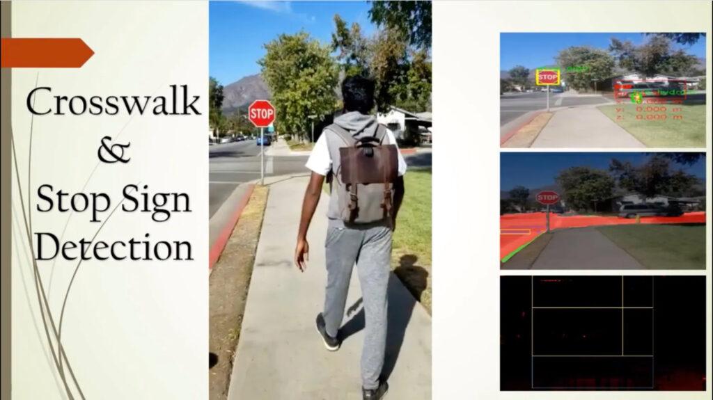 Balo được hỗ trợ Intel AI có khả năng giúp người khiếm thị nhận biết môi trường xung quanh
