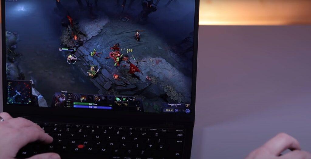 laptop gaming, thinkpad x1 cano đánh giá