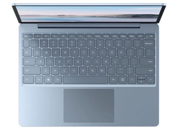 ban phim va touchpad ice blue surface laptop