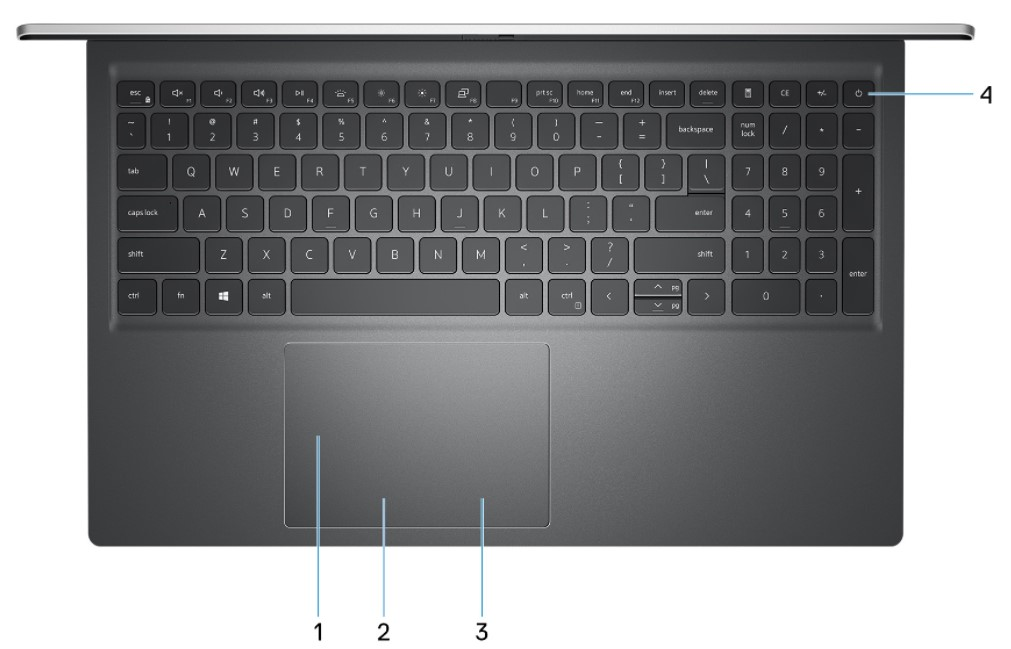 dell inspiron 5515 keyboard