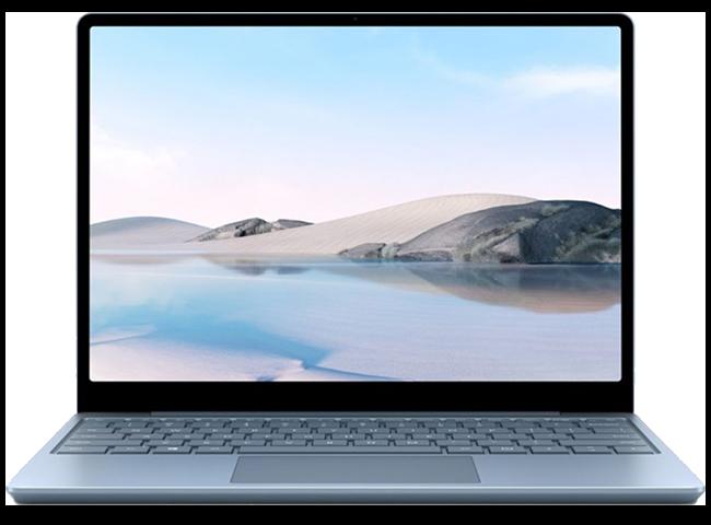 Microsoft surface laptop go ice blue thumbnail
