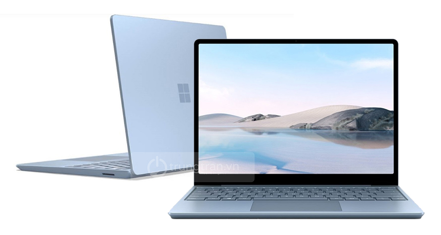 ice blue surface laptop go
